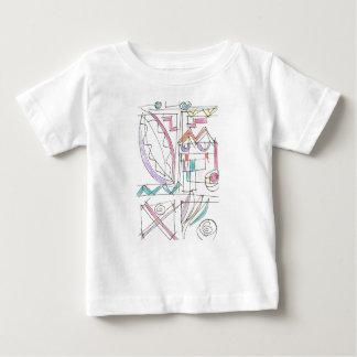 T-shirt Pour Bébé Art abstrait Fiesta-Lunatique