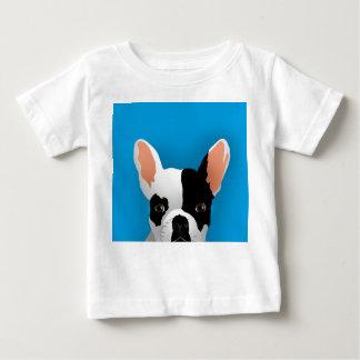 T-shirt Pour Bébé Art de bouledogue - bouledogue français