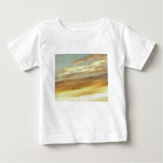 T-shirt Pour Bébé art de ciel de coucher du soleil