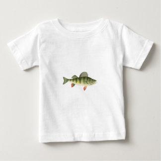 T-shirt Pour Bébé Art de perche jaune