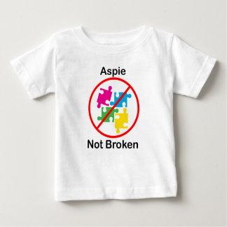 T-shirt Pour Bébé Aspie, non cassé