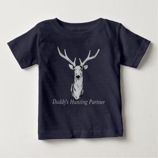 T-shirt Pour Bébé Associé de la chasse du papa