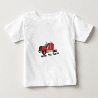 T-shirt Pour Bébé Au-dessus de la route