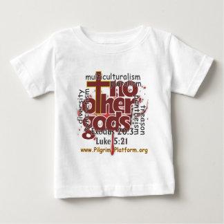T-shirt Pour Bébé Aucune autre chemise de nourrisson de dieux