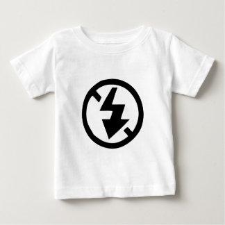 T-shirt Pour Bébé Aucune photographie instantanée