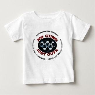 T-shirt Pour Bébé Aucunes entrailles d'armes à feu juste