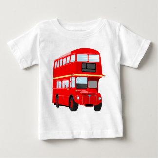 T-shirt Pour Bébé Autobus rouge