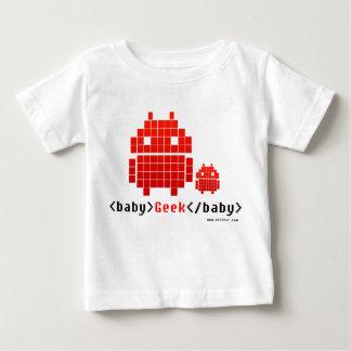 T-shirt Pour Bébé Baby Geek