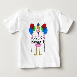 T-shirt Pour Bébé Ballons lunatiques de joyeux anniversaire de