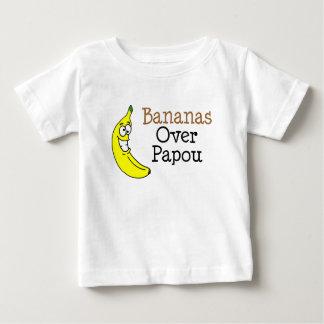 T-shirt Pour Bébé Bananes au-dessus de Papou