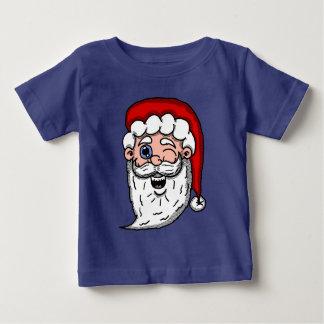 T-shirt Pour Bébé Bande dessinée clignant de l'oeil la tête de Père