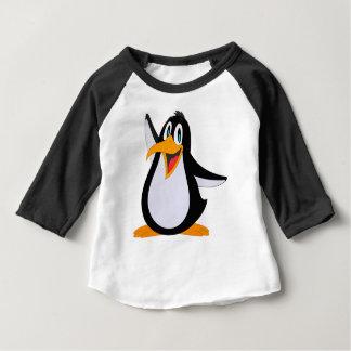 T-shirt Pour Bébé Bande dessinée heureuse de pingouin