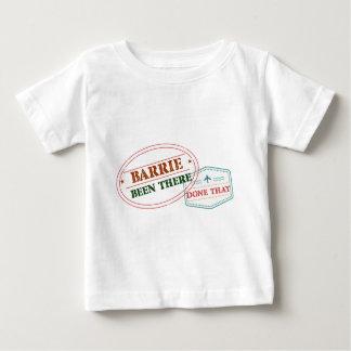 T-shirt Pour Bébé Barrie là fait cela