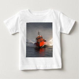 T-shirt Pour Bébé Bateau pilote rapide