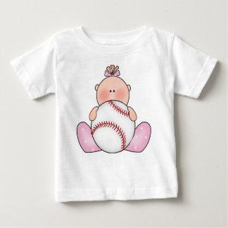 T-shirt Pour Bébé Bébé de base-ball de Lil