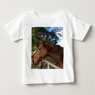 T-shirt Pour Bébé Bennie le grand cheval de Brown aimant Pat,