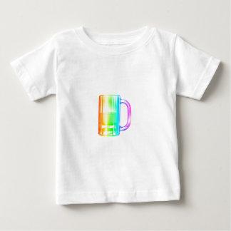 T-shirt Pour Bébé Bière d'arc-en-ciel