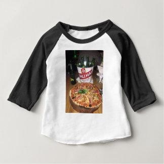 T-shirt Pour Bébé Bière et pizza de Bali