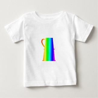 T-shirt Pour Bébé Bière Stein d'arc-en-ciel