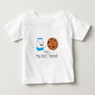 T-shirt Pour Bébé Biscuits et lait - meilleurs amis
