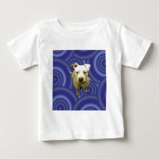 T-shirt Pour Bébé Bleu sur le bleu
