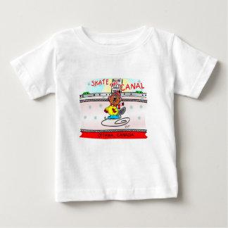 T-shirt Pour Bébé Boisez les patins de castor le canal