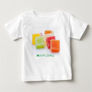 T-shirt Pour Bébé Bonbons à gelée avec la saveur de fruits