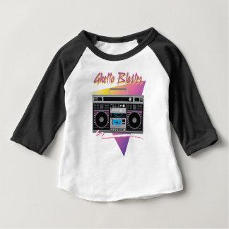 T-shirt Pour Bébé boombox de sableuse de ghetto des années 1980