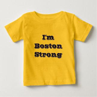 T-shirt Pour Bébé Boston fort