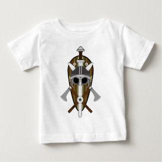 T-shirt Pour Bébé Bouclier de guerrier de Viking