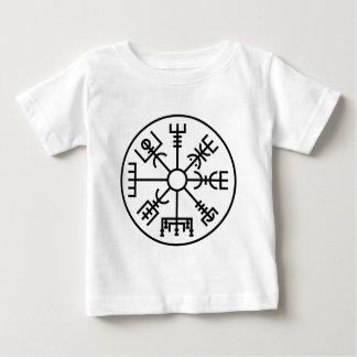 T-shirt Pour Bébé bouclier Odin des norses de symbole de Viking de