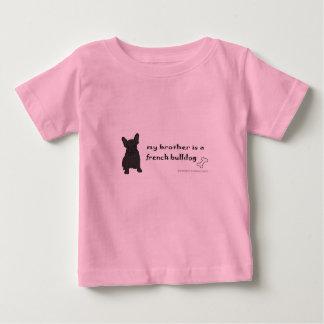 T-shirt Pour Bébé bouledogue français