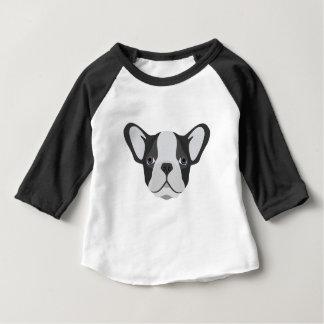 T-shirt Pour Bébé Bouledogue français mignon d'illustration