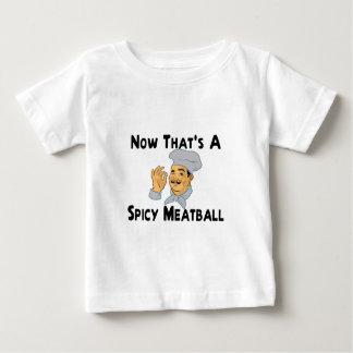 T-shirt Pour Bébé Boulette de viande épicée