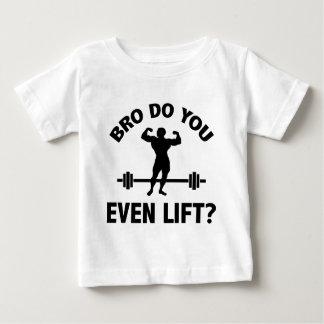 T-shirt Pour Bébé Bro, vous soulevez-vous même ?