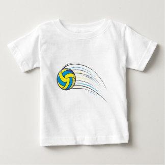 T-shirt Pour Bébé Bruissement de volleyball