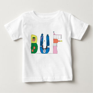 T-shirt Pour Bébé BUFFLE de la pièce en t | du bébé, NY (BUF)