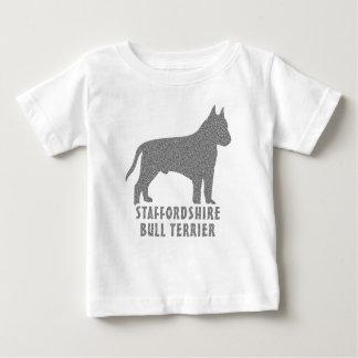 T-shirt Pour Bébé Bull-terrier du Staffordshire