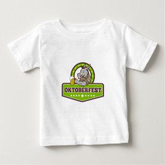T-shirt Pour Bébé Buveur de bière d'âne Oktoberfest rétro