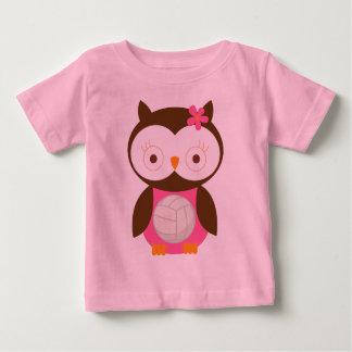 T-shirt Pour Bébé Cadeau de volleyball de filles