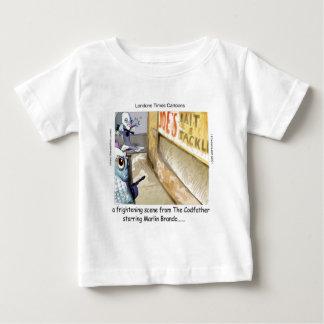 T-shirt Pour Bébé Cadeaux drôles de Mafia de poissons de Rick
