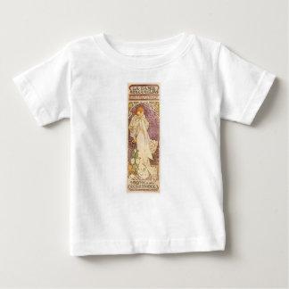 T-shirt Pour Bébé Camélias français de Nouveau d'art - Alphonse
