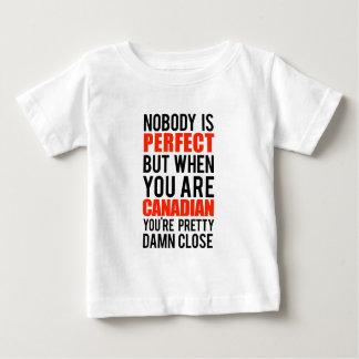T-shirt Pour Bébé Canadien