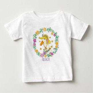 T-shirt Pour Bébé Canard lunatique de charlatan en guirlande