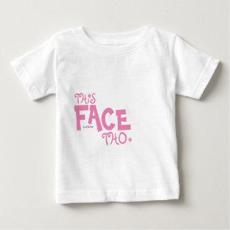 T-shirt Pour Bébé Ce visage Tho - MzSandino