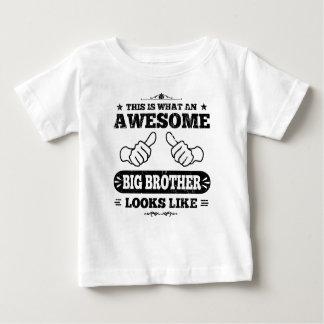 T-shirt Pour Bébé C'est à quel frère impressionnant ressemble