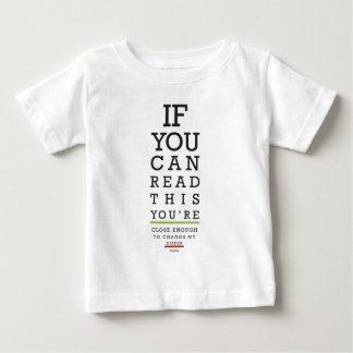 T-shirt Pour Bébé Changez mes mercis de couche-culotte