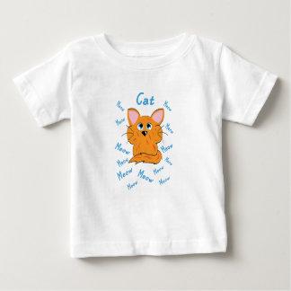 T-shirt Pour Bébé Chat