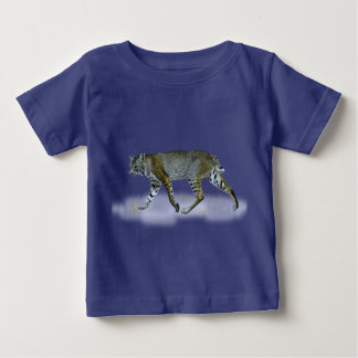 T-shirt Pour Bébé Chat sauvage