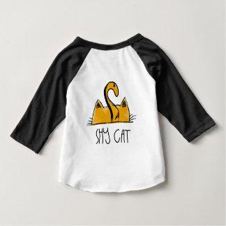 T-shirt Pour Bébé chat timide